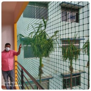 Balcony Safety Nets In Bangalore, Call 9742262247 For Net Fixing