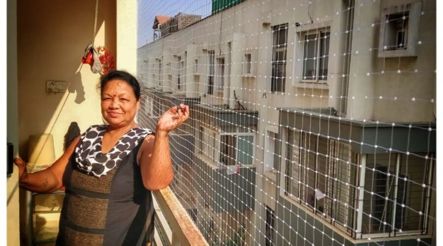 Balcony Safety Nets, Call 9742262247 For Net Fixing