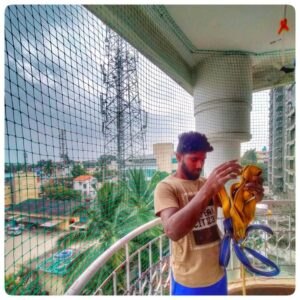 Monkey Safety Nets, Call 9742262247 For Net Fixing